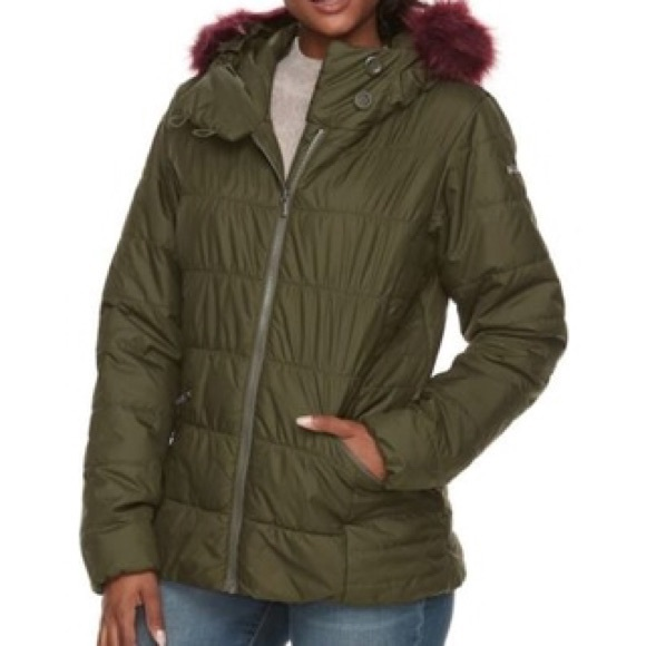 Women's Columbia Hooded Thermal Coil Jacket